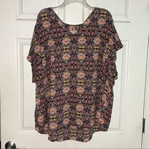 NWOT Loft plus blouse